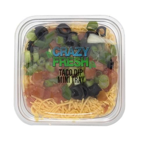 Crazy Fresh Mini Taco Dip - 8oz - image 1 of 3