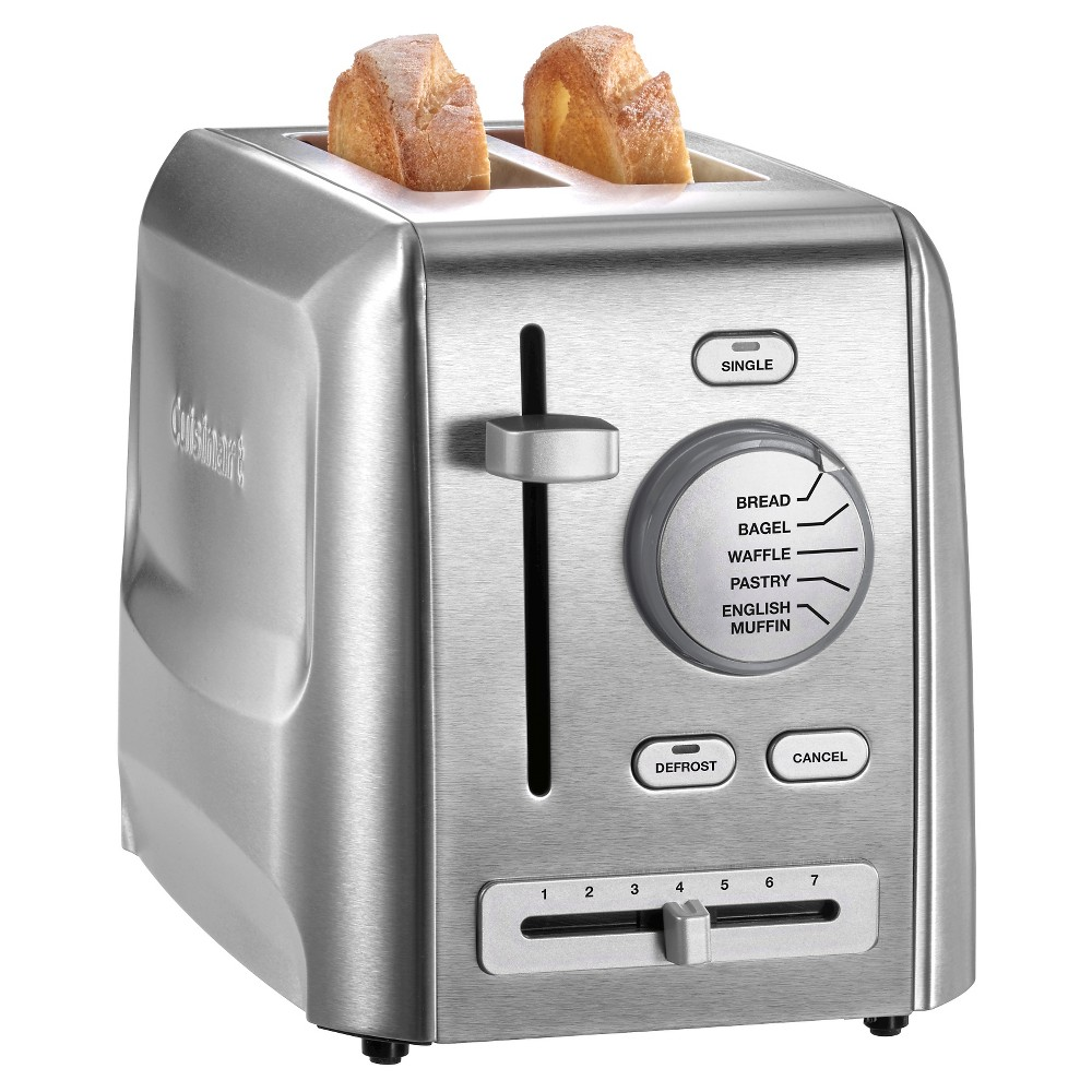 Cuisinart 2 Slice Toaster - Stainless Steel (Silver) Cpt-620