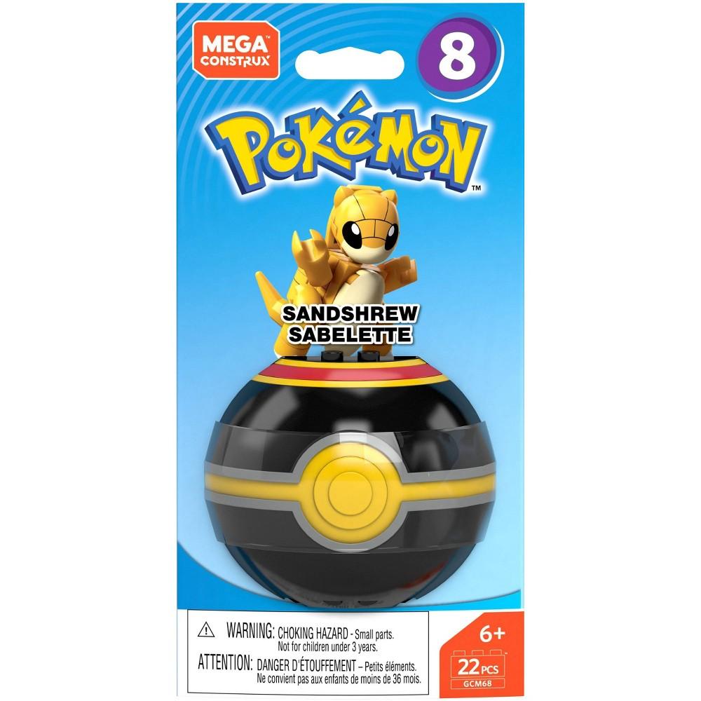 Mega Construx Pokemon Sandshrew Poke Ball