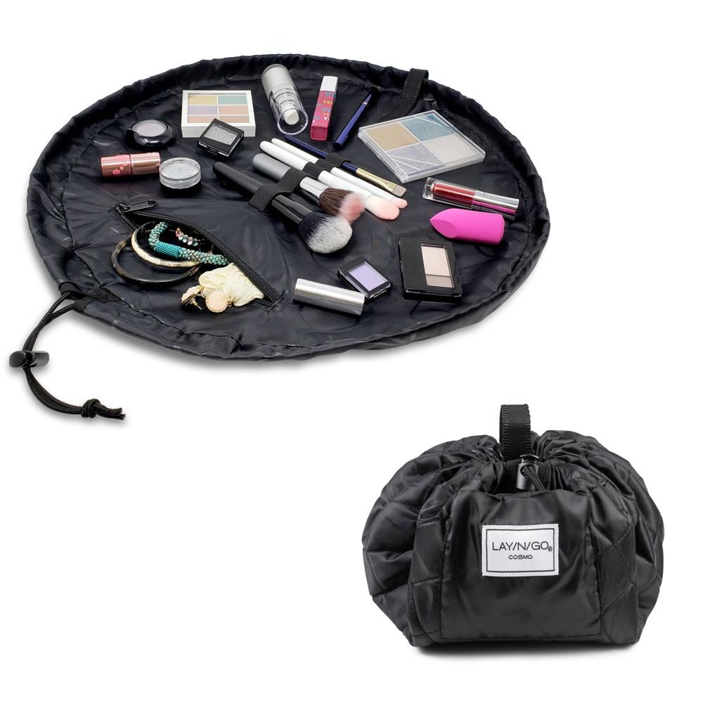 "Image of ""Lay-n-Go COSMO Makeup Bag - 20"""" - Black"""