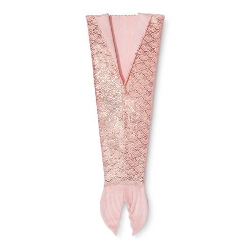 Mermaid Tail Wearable Blanket - Pillowfort™ - image 1 of 4
