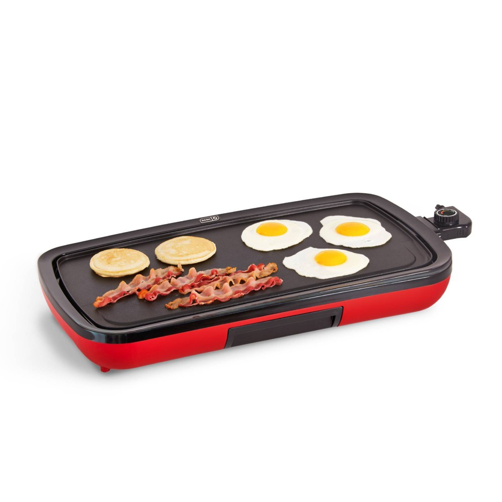 Image of Dash Everyday Electric Griddle - Red