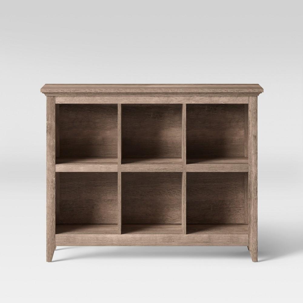 Carson 37.2 - Bin Organizer Bookcase - Rustic - Threshold