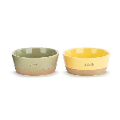 DEMDACO Delish Ice Cream Bowls - Set of 2