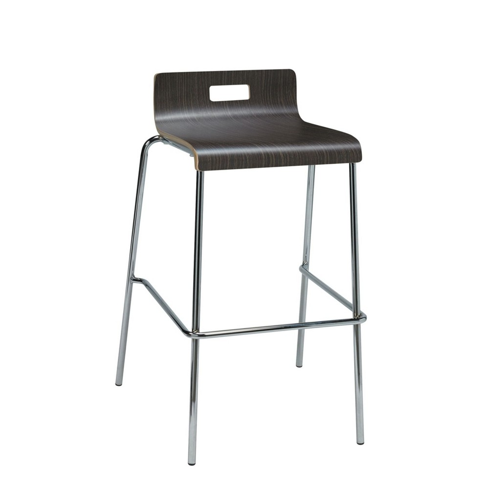 Image of Jive Low Back Barstool Espresso Brown - KFI Seating