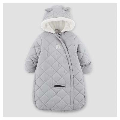 Baby Boys' Snowsuit - Just One You™ Made by Carter's® Gray One Size