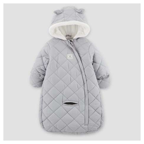 c5a9759a0dd0 Baby Boys  Snowsuit - Just One You® Made By Carter s Gray One Size ...