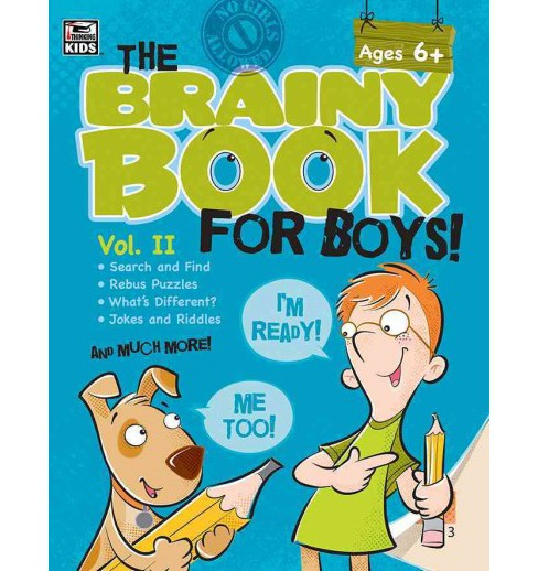 The Brainy Book for Boys! (2) (Paperback) - image 1 of 1