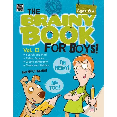 5 Top Reviewed Brainy Books For Holiday >> Brainy Book For Boys Vol 2 Paperback Target