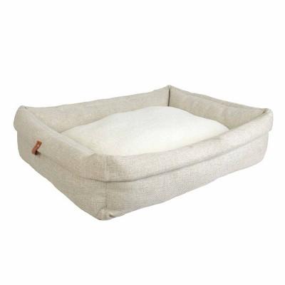 Rectangular Roll Cuff Dog Beds - XL - Boots & Barkley™