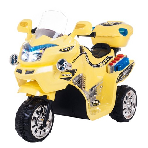 Lil' Rider FX 3 Wheel Battery Powered Bike - Yellow (14.11 Lb) - image 1 of 2