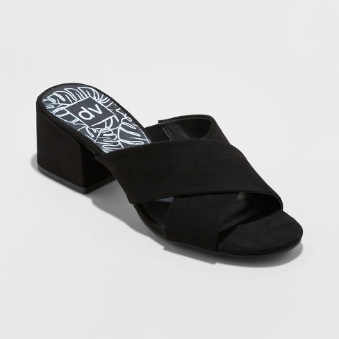 Women's dv Cross Mule Heels - image 1 of 3