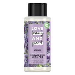Love Beauty & Planet Argan Oil & Lavender Smooth & Serene Shampoo - 13.5 fl oz