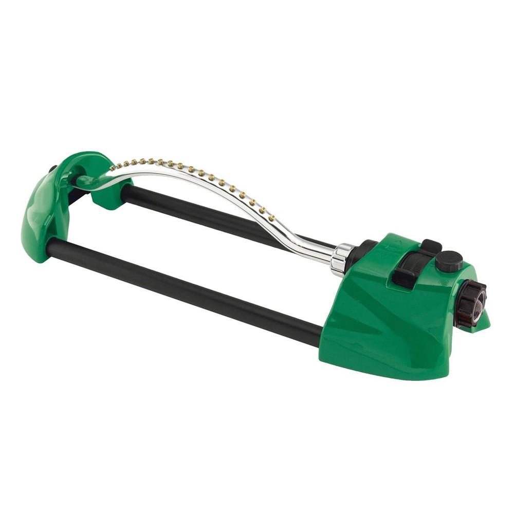 Image of ColorStorm Metal Oscillating Sprinkler Green - Dramm