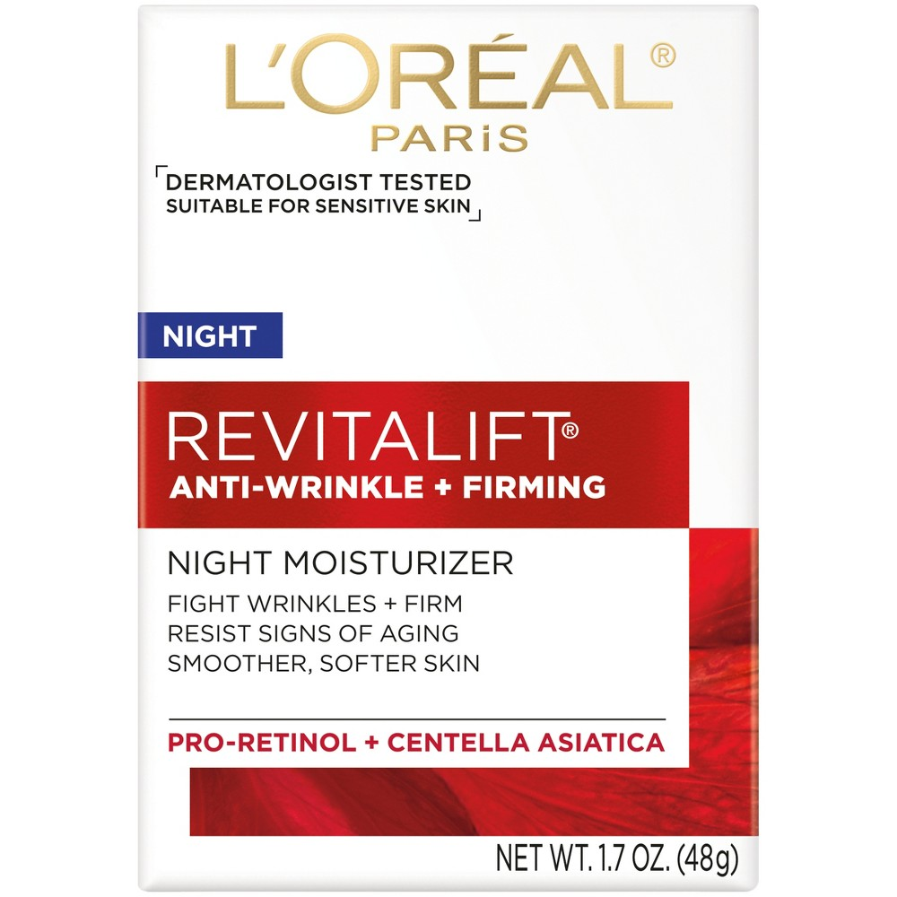 L'Oreal Paris Revitalift Anti-Wrinkle + Firming Night Cream 1.7oz
