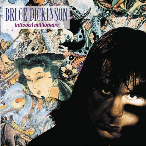 Bruce Dickinson - Tattooed Millionaire (CD) - image 1 of 1