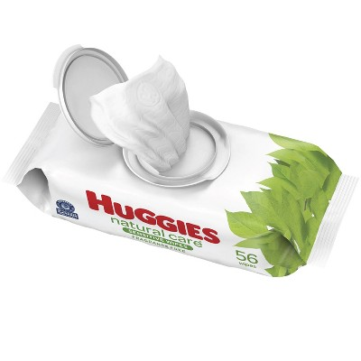 Huggies Natural Care Sensitive Unscented Baby Wipes - 56ct