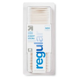 Cotton Swabs Paper Sticks - 500ct - Up&Up™