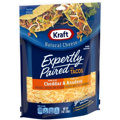 Kraft Natural Mexican Style Taco Shredded Cheese - 8oz