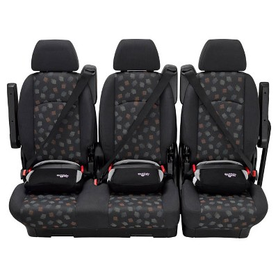 BubbleBum Backless Booster Car Seat - Black