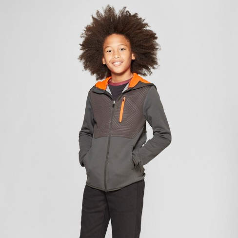 classic fit f4e58 4525d Boys  Elevated Tech Fleece Full Zip Hoodie - C9 Champion ®