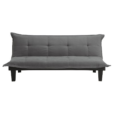 Kylie Microfiber Upholstered Futon - Room & Joy