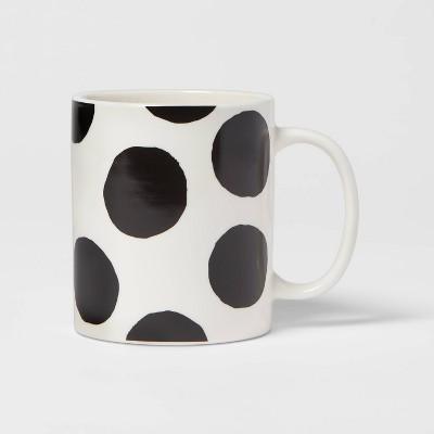 15oz Stoneware Polka Dots Mug - Room Essentials™