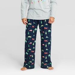 Men's Holiday Car Print Flannel Pajama Pants - Wondershop™ Navy