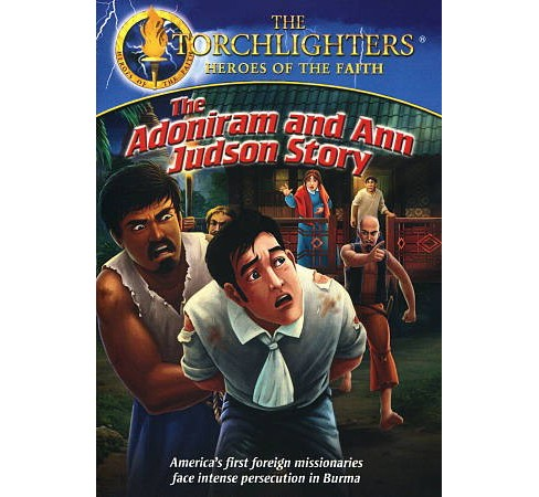 Torchlighters:Adoniram And Ann Judson (DVD) - image 1 of 1
