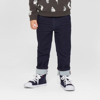 Toddler Boys' Straight Jeans - Cat & Jack™ Dark Blue 12M