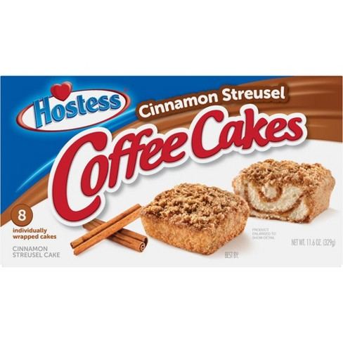 Hostess Cinnamon Streusel Coffee Cake - 8ct/11.6oz - image 1 of 4