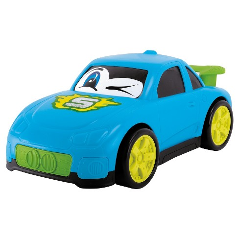"Dickie Toys - Happy Runners Vehicle, Blue Street Car 10"" - image 1 of 3"