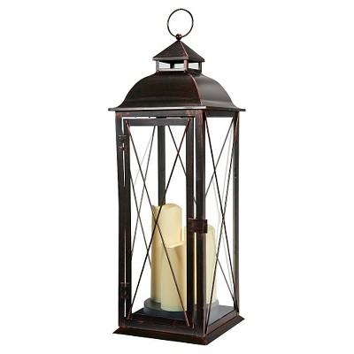 Salerno 27  Triple LED Candle Outdoor Lantern - Smart Living