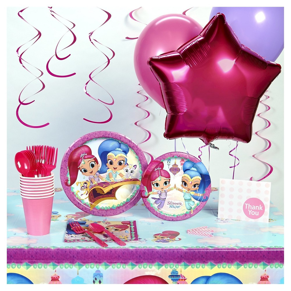 Shimmer and Shine Super Deluxe Party Pack, Multi-Colored