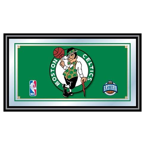 Boston Celtics Team Logo Wall Mirror - image 1 of 1