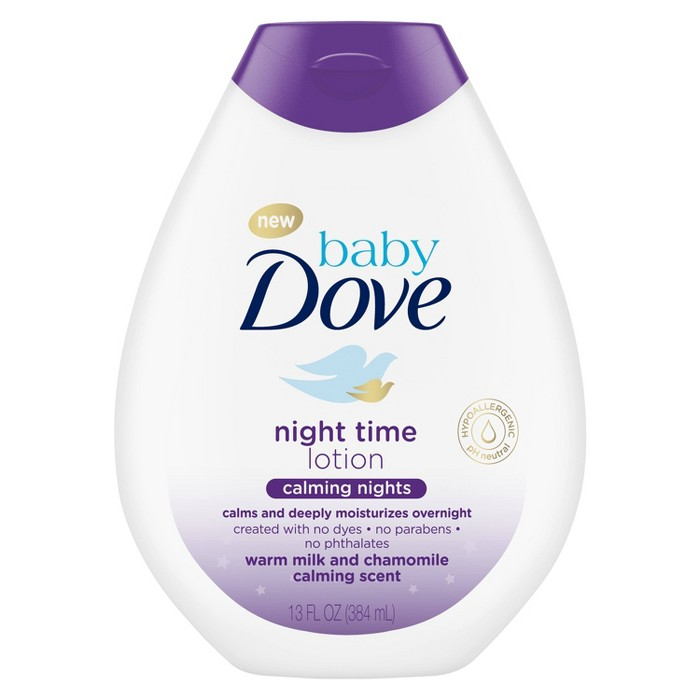 Baby Dove Nighttime Baby Lotion - 13oz - image 1 of 3
