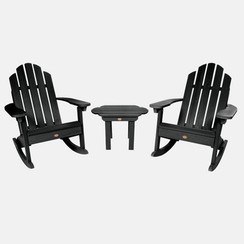 Adirondack Rocking Chair Patio Set