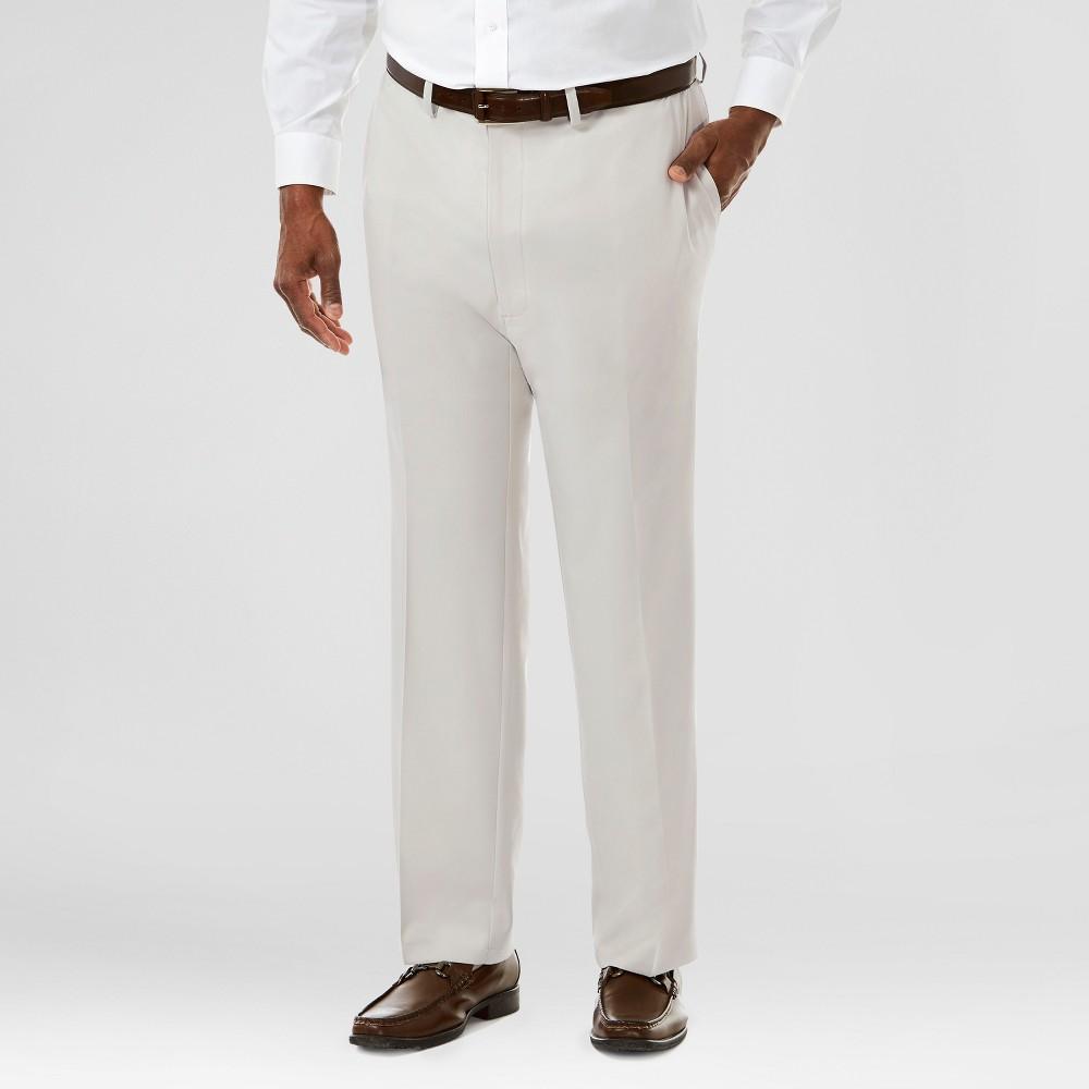 Haggar H26 Men's Haggar H26 Men's Big & Tall Performance Stretch Straight Fit Pants String 48x34