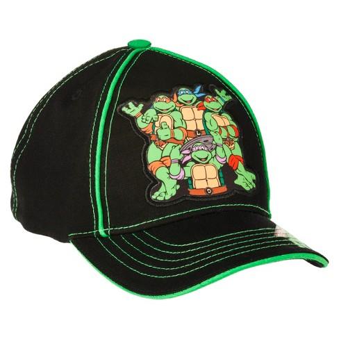 f34267a2dad Teenage Mutant Ninja Turtles® Toddler Boys  Baseball Hat - Black Green    Target