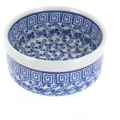 Blue Rose Polish Pottery Olympia Small Ramekin