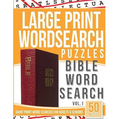 graphic about Large Print Word Search Printable known as Massive Print Wordsearch Puzzles Bible Term Glimpse - As a result of Term