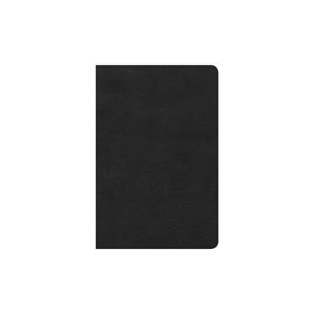 Holy Bible : Christian Standard Bible, Personal Size Reference Bible, Black Leathertouch (Paperback)