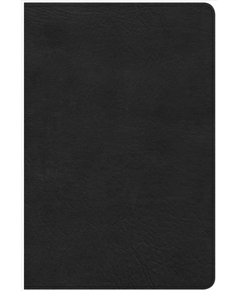 Holy Bible : Christian Standard Bible, Personal Size Reference Bible, Black Leathertouch (Paperback) - image 1 of 1