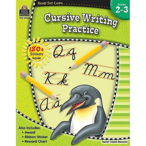 Ready-Set-Learn: Cursive Writing Practice Grd 2-3 - (Ready, Set, Learn Series) (Paperback) - image 1 of 1