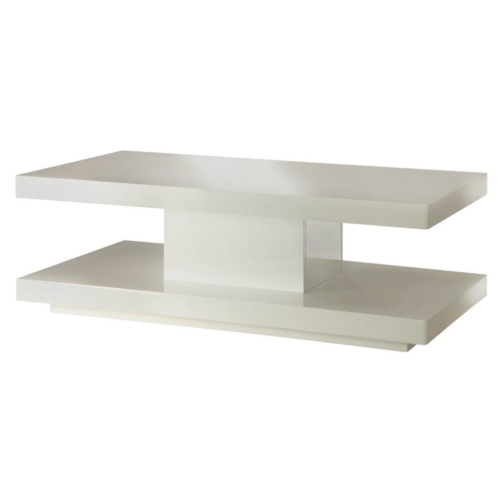 Imena Coffee Table White - Acme