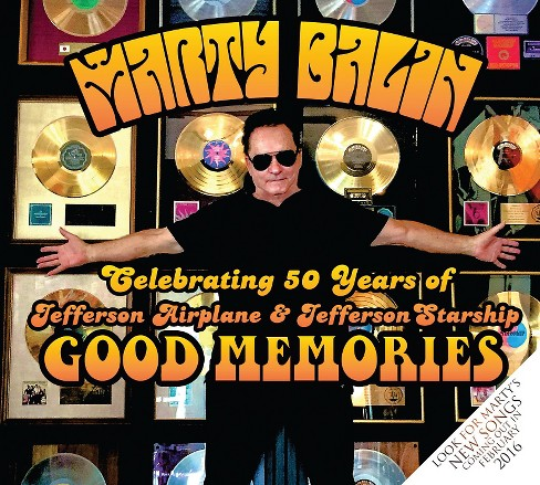 Marty balin - Good memories (CD) - image 1 of 1