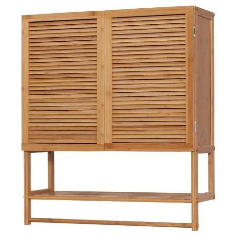 2 Door Wall Cabinet with Towel Bar - Eco Styles : Target