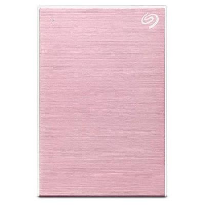 Seagate 2TB Backup Plus Slim Portable External Hard Drive USB 3.0 - Pink Rose (STHN2000405)