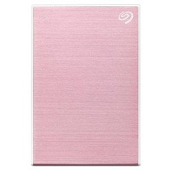 Seagate 2TB Backup Plus Slim Portable External Hard Drive USB 3.0 - Rose Gold (STHN2000405)