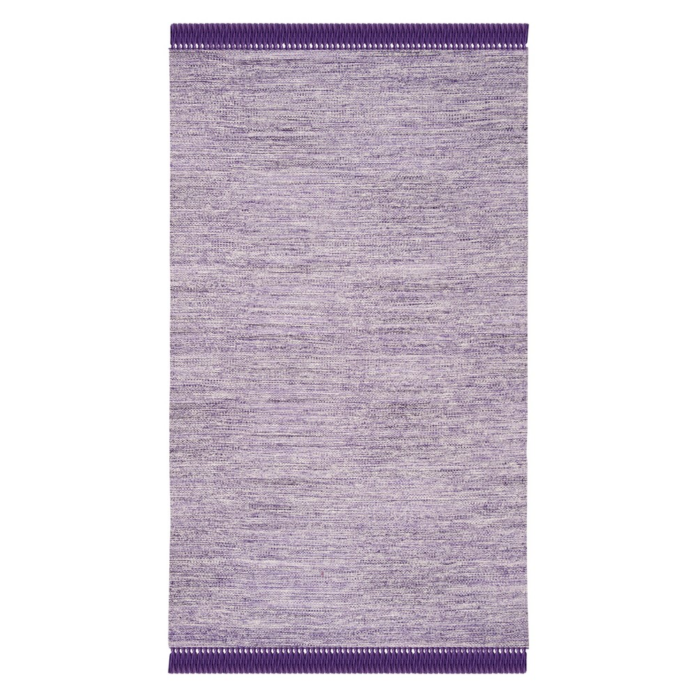 Purple Spacedye Design Woven Area Rug 5'X8' - Safavieh